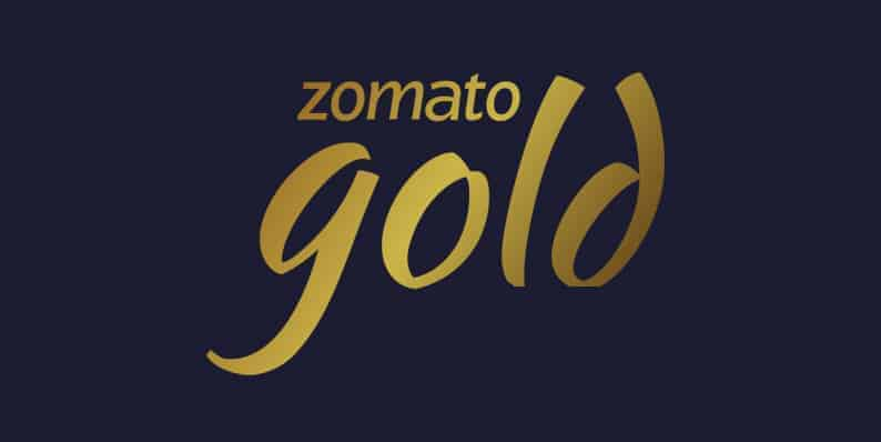 Zomato Gold Deals