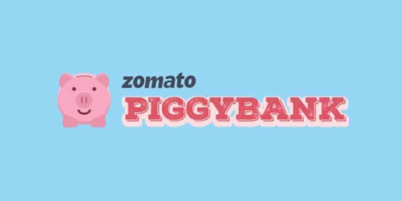 Zomato Piggybank Deals