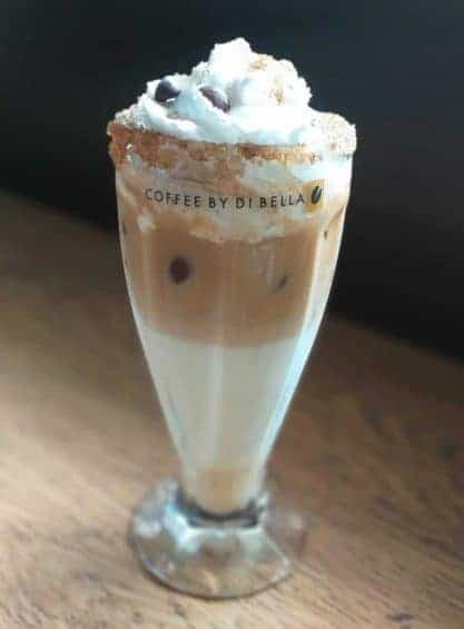 Cold Spanish Latte Coffee By Di Bella