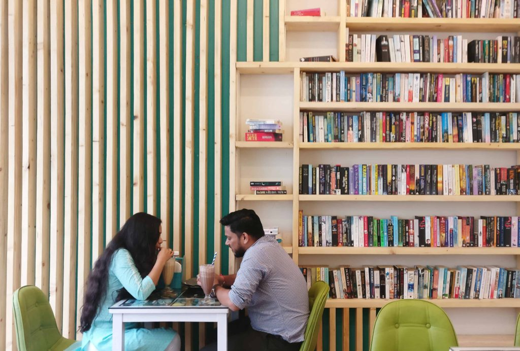 The Nerdy Indian Cafe Smell Books And Good Food