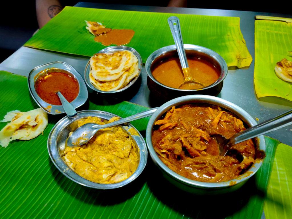 Courtallam Border Rahmath Kadai Food Over Banana Leaf