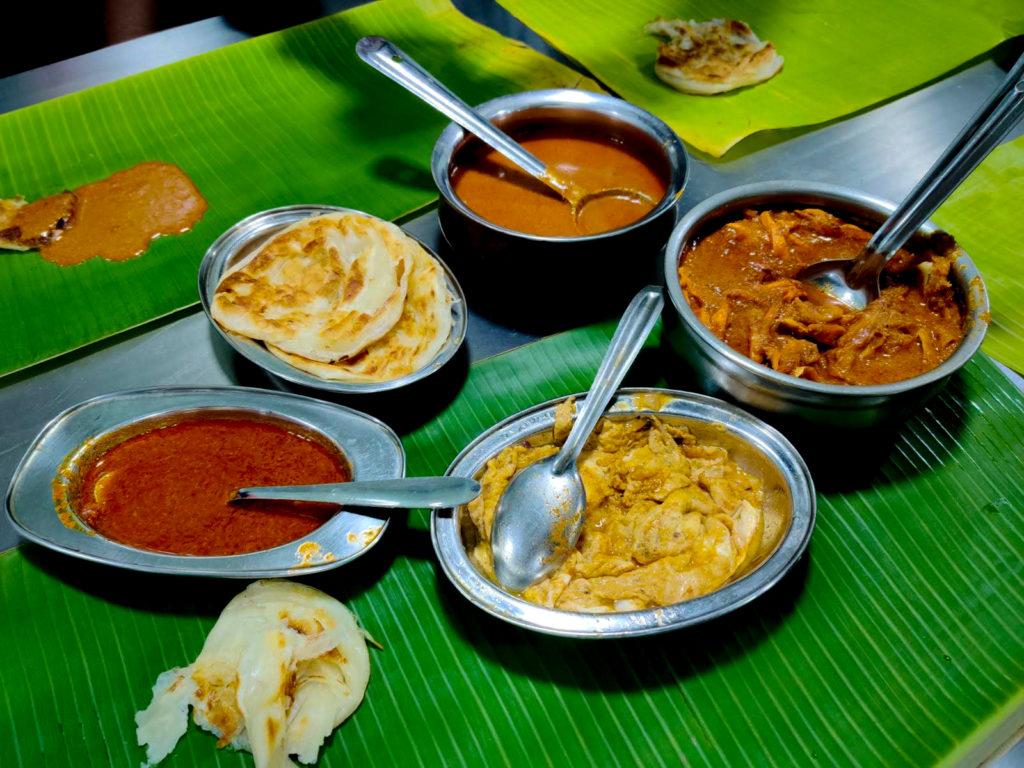 Courtallam Border Rahmath Kadai Various Dishes