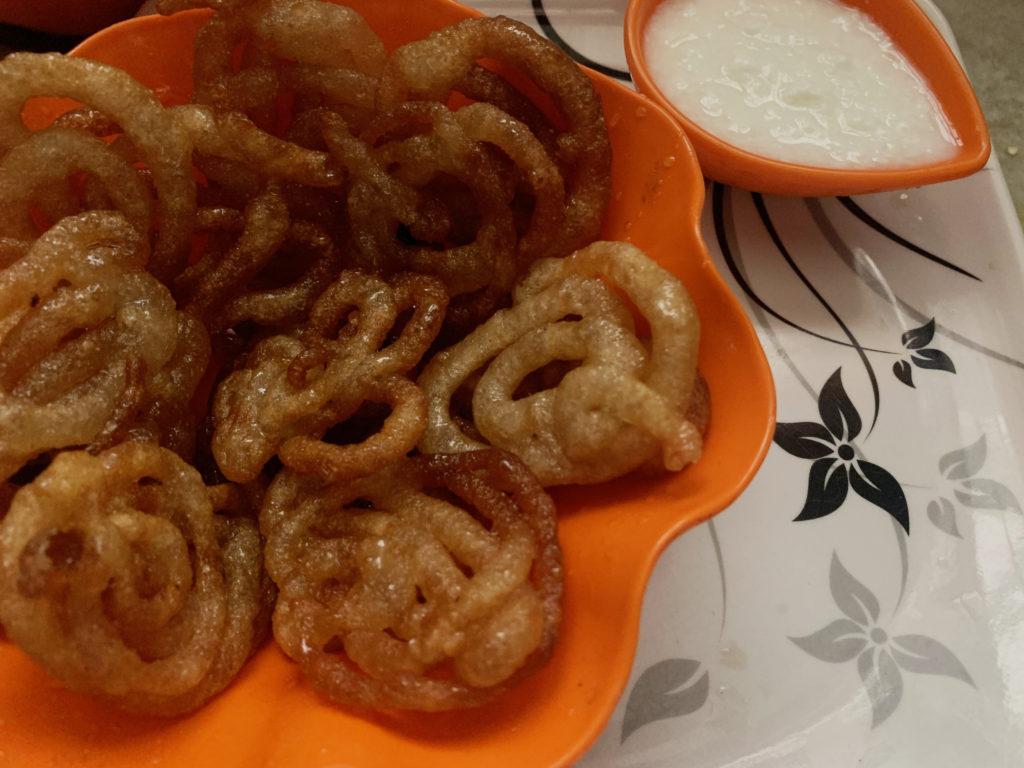 How To Make Homemade Crispy Jalebi Ingredients