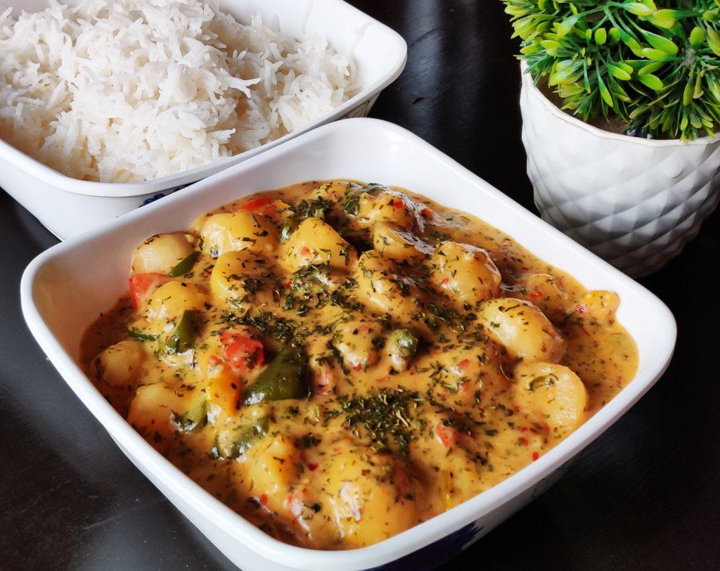 Creamy Herbed Potatoes Recipe Ingredients