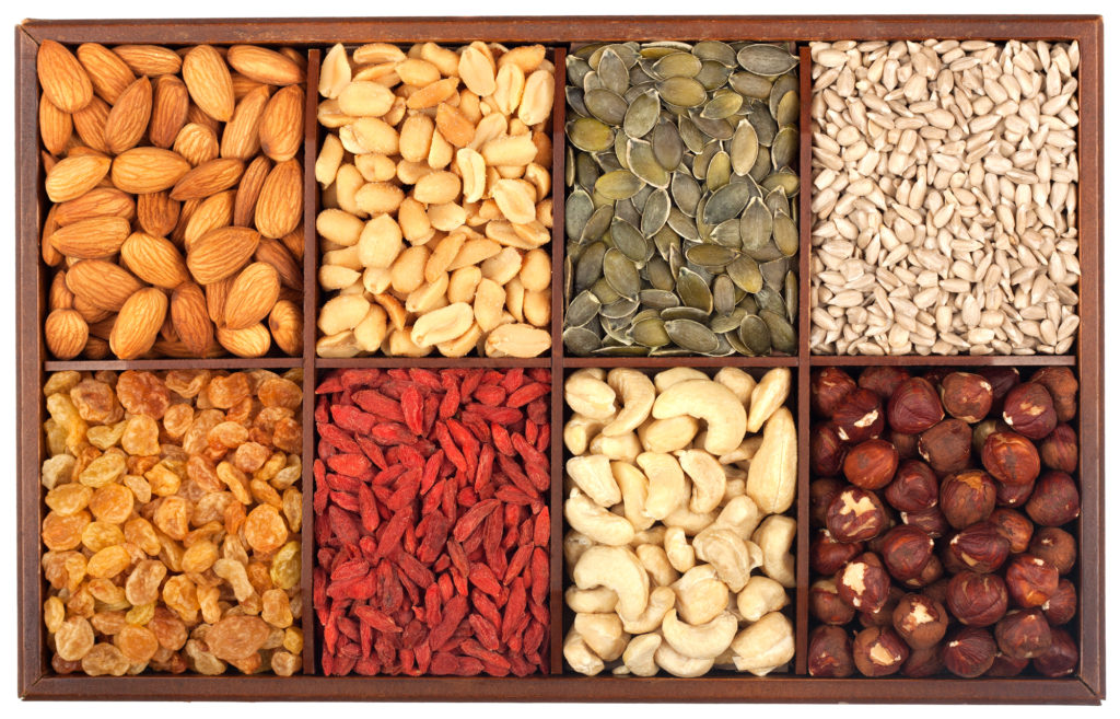 Health Benefits Of Nuts & Seeds