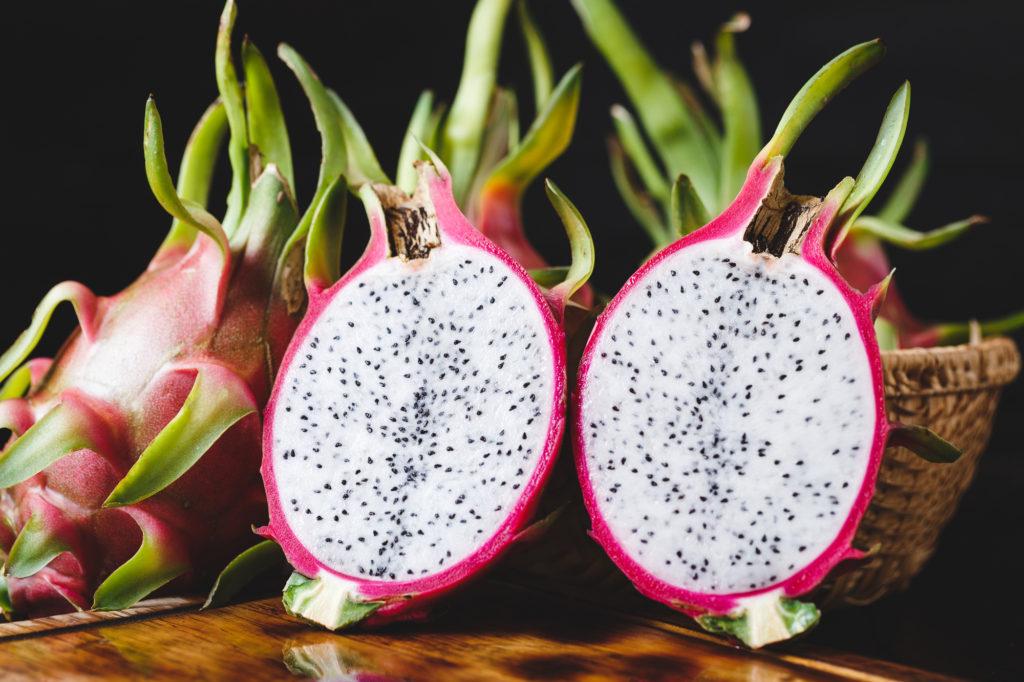 Dragon Fruit Health Benefits Juice Eating Drinking Smoothie